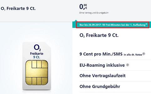 o2 freikarte - Kostenlose SIM-Karte mit 50 Frei-Minuten